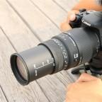 Sigma 70-300mm f/4-5.6 DG  Macro Telephoto Zoom Para Canon.
