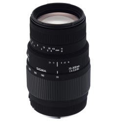 Para Nikon - Sigma 70-300mm f/4-5.6 DG Macro Telephoto Zoom