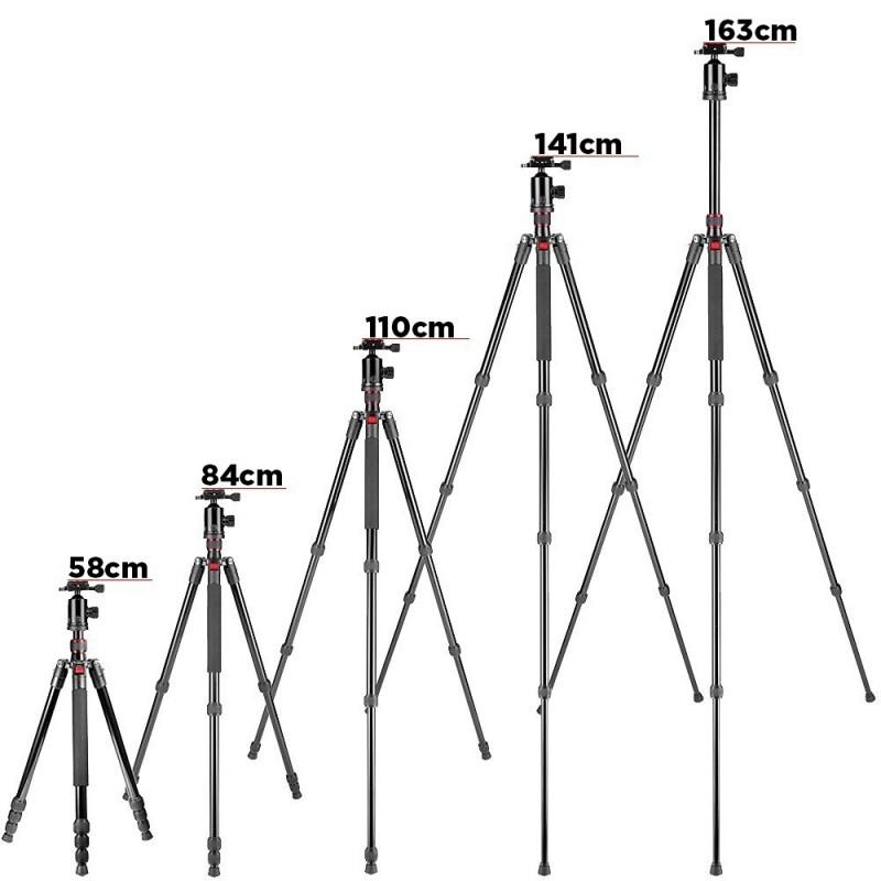 Tripode alta resistencia 163cm