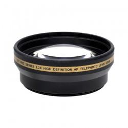 Lente Telefoto 2.2x Hd 52mm / 55mm / 58mm