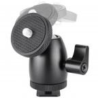 Mini Ballhead con zapata para Camara DSLR Canon Nikon