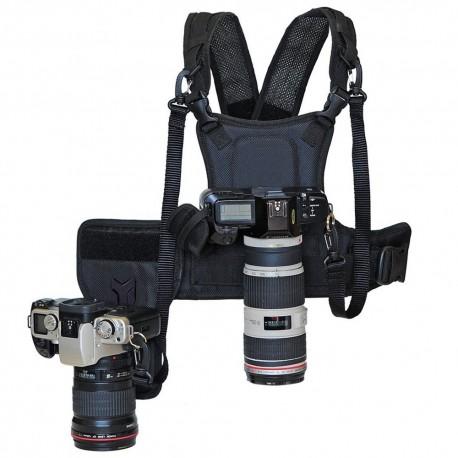 Chaleco Arnés para Cámara Fotográfica Canon Nikon Sony Pentax Fujifilm