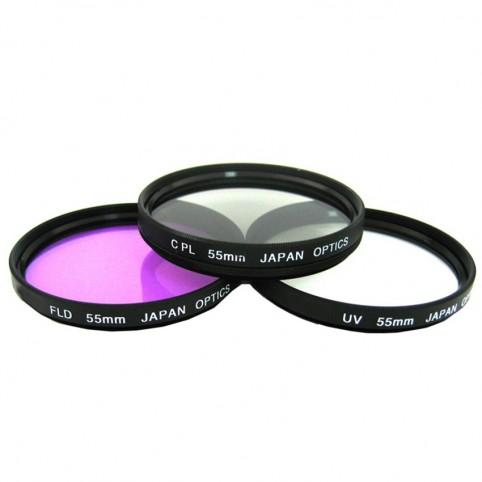 Kit de filtros UV, CPL & FLD, Escoge tu tamaño!
