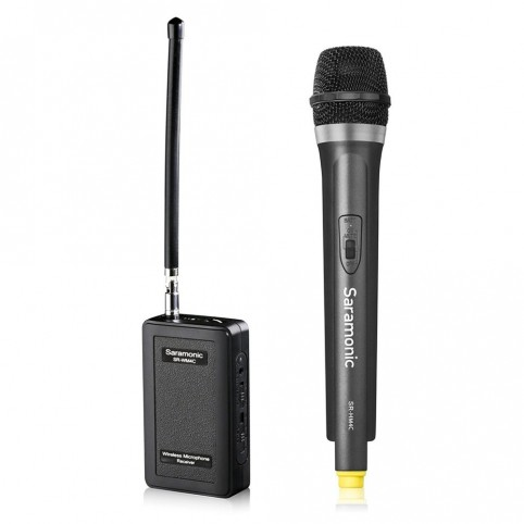Micrófono de Mano Inalámbrico Saramonic  para Cámara DSLR Video