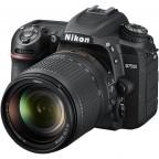 Cámara Nikon D7500 con lente 18-140mm + Memoria 16gb + Maletín