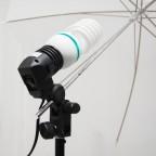 Socket Porta Sombrilla para Iluminación Fotografía Video