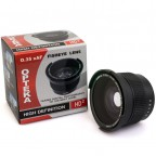 Lente Fisheye 0,35x HD para 52mm 58mm 67mm