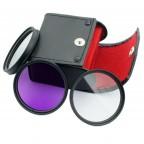 Kit de filtros UV, CPL & FLD // Varios Tamaños