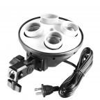 Multi Socket para Iluminación Fotografía y Video E27