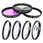 Kit de Filtros Completo UV, CPL FLD + CLOSE UP x4