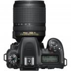 Cámara Nikon D7500 con lente 18-140mm ED VR