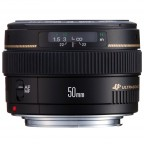 Lente Canon 50mm f/1.4 USM Negro