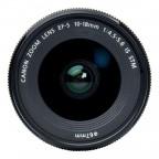 Lente Canon EF-S 10-18mm F/4.5-5.6 IS STM Negro