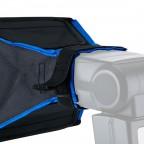 Softbox Portatil 20x15cm para Flash Canon Nikon Neewer.