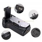 Grip de Batería para Canon T7i / 77D / Kiss X9i para Batería Lp-E17