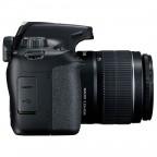 Camara Canon 4000d con lente EF-S 18-55mm DC III