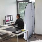 Fondo Portable Doble Faz Colapsible 2x1.5m