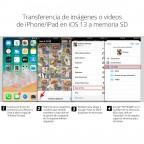Lector Inteligente de Memoria Sd y Micro SD para iPhone iPad Lightning RDA2