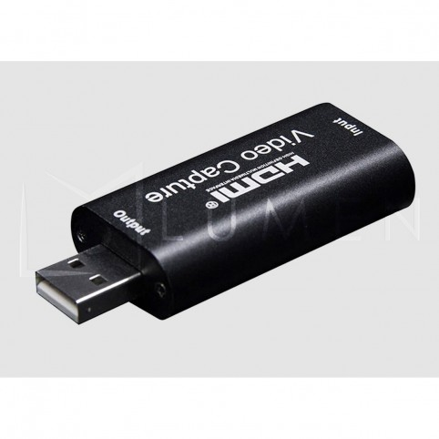 Capturador video HDMI a USB 1080p transmisiones en vivo