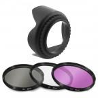 Kit Parasol + Filtros UV, CPL, FLD