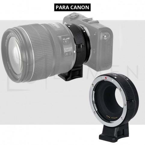 Adaptador Lentes Canon EF/EF-S a montura Canon M con AF