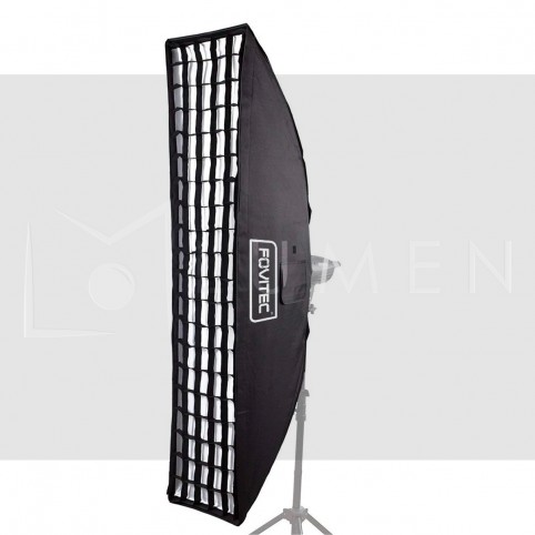 Softbox Strip Con Rejilla 157x35cm Bowens