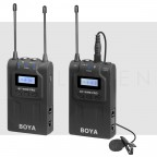 Microfono Boya WM8 Pro K1 Inalambrico de Solapa Universal DSLR