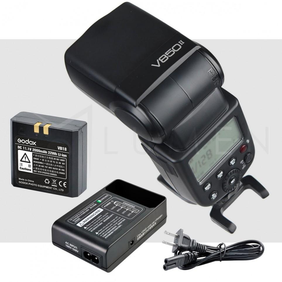 Godox V850II Flash Universal para Camara Canon Nikon Sony Panasonic Fujifilm