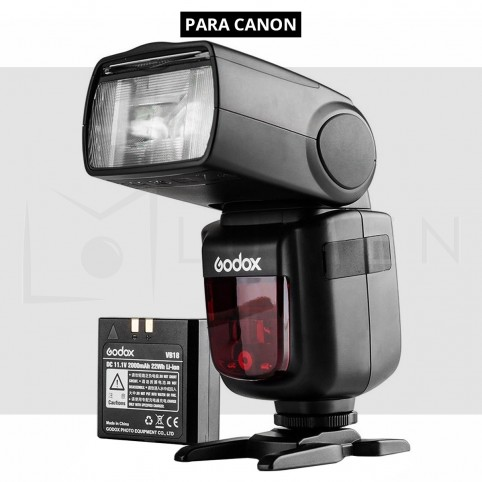 Godox V860II para Canon: Flash VING Speedlight TTL