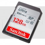128GB Tarjeta de Memoria SDXC Clase 10 UHS-I SanDisk 100MB/s