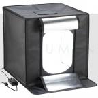 80x80cm - Cubo Profesional con barras LED