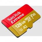 microSD XC 128GB SanDisk Extreme UHS-I con Adaptador Memoria SD