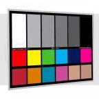 Carta de Calibración de Color 13cm x 18cm Balance de Blancos