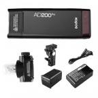 Flash Godox AD200Pro TTL Universal con Batería para Estudio