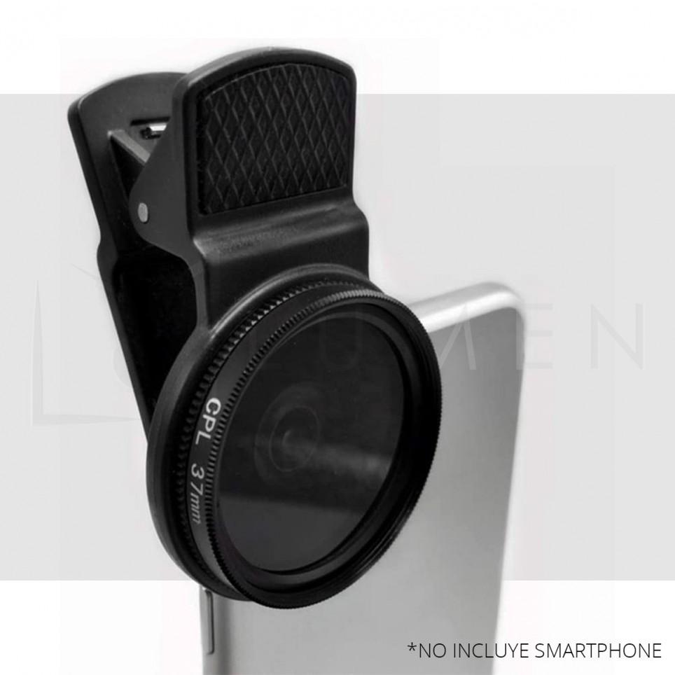 Para Smartphone Filtro ND Densidad Neutra 2 - 400 Ajustable