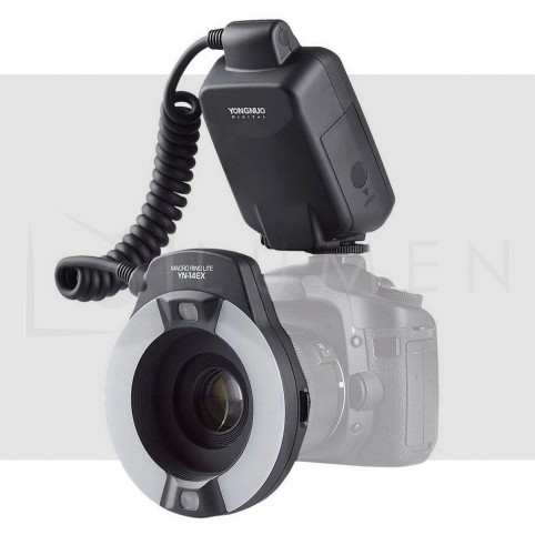 YN14EX TTL Anillo Flash Yongnuo para Canon Fotografia Macro