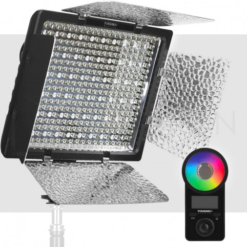 Luz LED RGB YN300IV Multicolor para Foto y Video Yongnuo