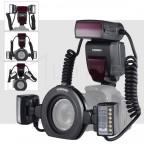 Twin Flash YN24EX TTL Yongnuo para Canon Macro
