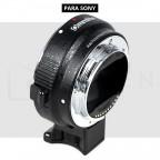 Adaptador Lentes Canon EF/EF-S a montura Sony E con AF