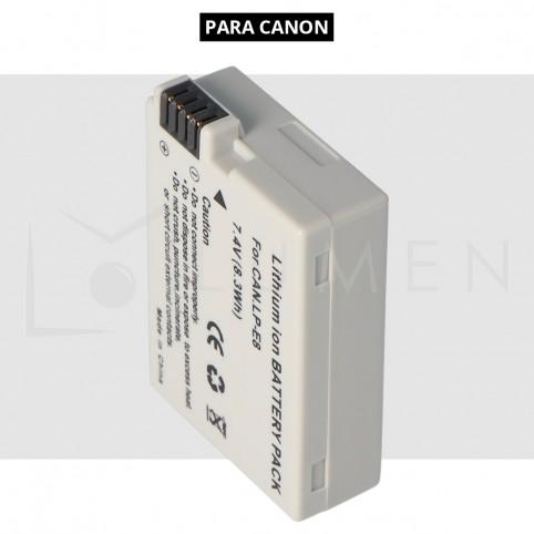 Bateria Recargable para Canon T5i T4i T3i Lp - E8 2000 mAh