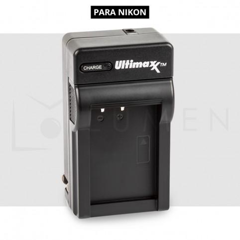 CARGADOR DE BATERIA EN-EL14 PARA NIKON D3100 D3200 D3300 D5100 D5200 D5300.