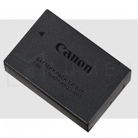 Para T6i T7i 77D Batería LP-E17 Original Canon 1.040mAH Negro