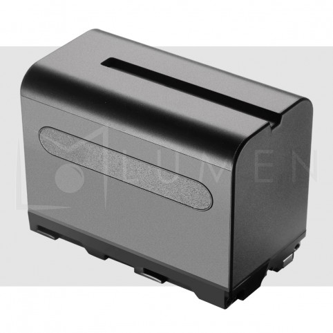 Bateria de litio recargable NPF-975 7.800mAh para Video Camara y Luz Led.