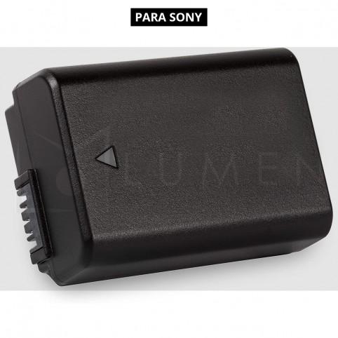 Batería NP-FW50 para Sony A6000 A6500 A6300 A7 A7II  A7SII  A7S  A7S2 A7R  A7R2 A55 A500
