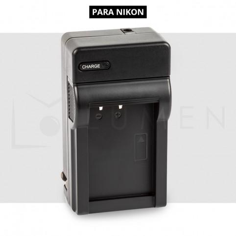 Cargador de Batería recargable EN-EL15 de 2.400 mAh para Nikon D700, D7100, D7200.