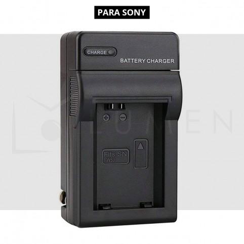 Cargador NP-FW50 para Sony A6000 A6500 A6300 A7 A7II A7SII A7S A7S2 A7R A7R2 A55 A500
