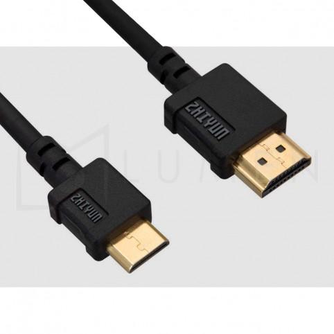 Cable Zhiyun Mini HDMI a HDMI Tipo-A