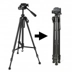 Trípode 1.5m para Cámara Fotografía Video con Soporte para Celular