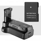 Kit Para Nikon D3100 D3200 D3300 D5300 Grip de batería + Bateria EN-EL14a