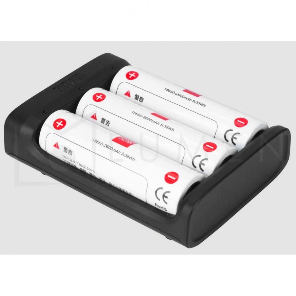Cargador Zhiyun para Pilas 18650 USB-C Crane 3S, Crane 2, 2s